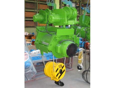 """Тали электрические канатные взрывозащищенные с монорельсовой тележкой (нормальная строительная высота) тип """"ВМТ"""""""