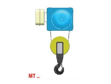 """Тали электрические с монорельсовой тележкой (уменьшенная строительная высота) тип """"МТ"""""""
