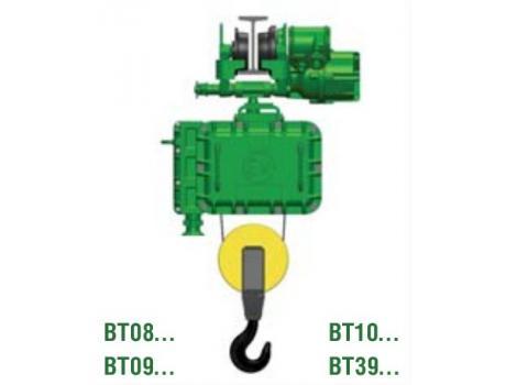 """Тали электрические канатные взрывозащищенные с монорельсовой тележкой (нормальная строительная высота) тип """"ВТ"""""""