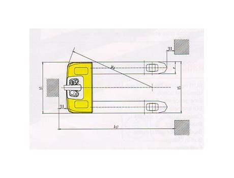 Тележка самоходная CBD18W, г/п 1,8 т