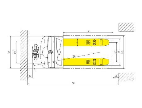 Тележка самоходная CBD20K(D)-I, г/п 2-4,4 т