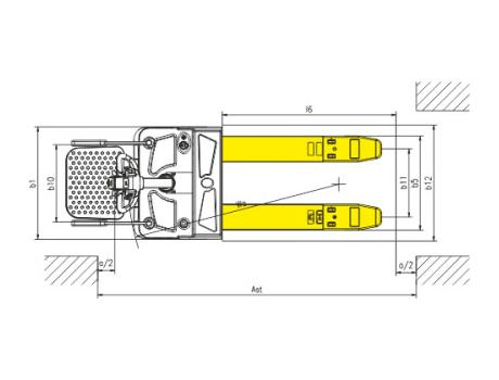 Тележка самоходная CBD20R-II, г/п 2 т