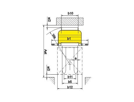 Самоходный электроштабелер CDD20M, г/п 2000 кг, в/п 4500 мм