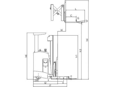 Ричтрак CQDH15C (одни ножницы)