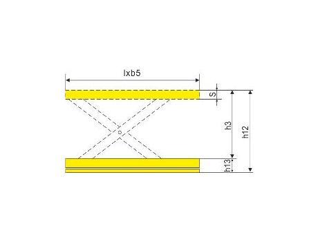 Подъёмный стол DG04