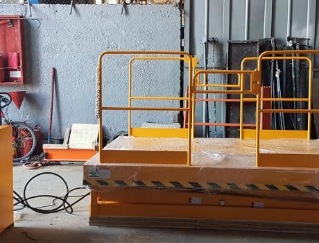 Подъёмный стол DGS20 (в/п 4000 мм)