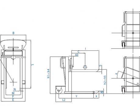 Опрокидывающие устройства ALFA ALFA MRF/MRL