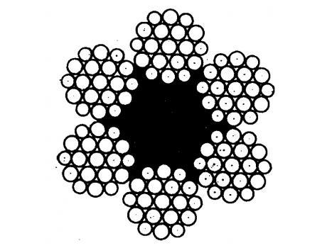 Канат двойной свивки типа ЛК-Р (ГОСТ 2688-80)