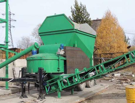 Мобильный бетонный завод MOBILBET0N 15/750 TRAIL