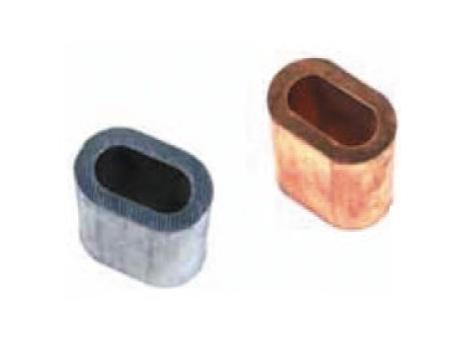 Алюминиевые втулки для стальных канатов
