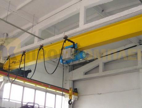 Кран-балка электрическая опорная г/п 2 тонны пролет 10,5 метров