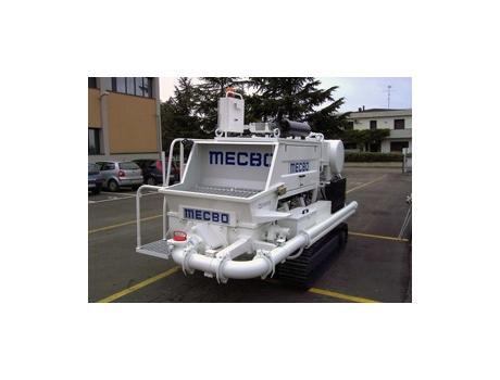 Бетононасос Mecbo Car Track P4/P7 на гусеничном ходу
