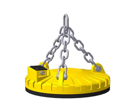Электромагниты серии ДКМс исполнение для установки на перегружатель скрапа
