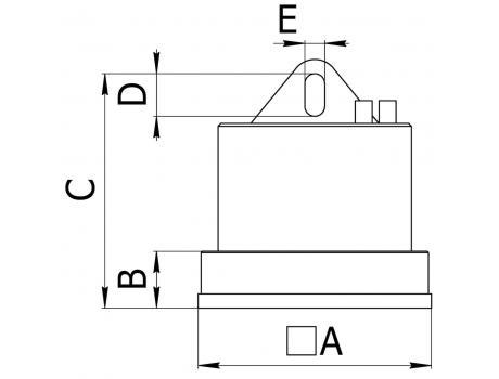 Электромагниты серии ДПМг - схема