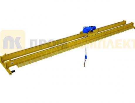 Кран мостовой двухбалочный электрический г/п 1-500 тонн