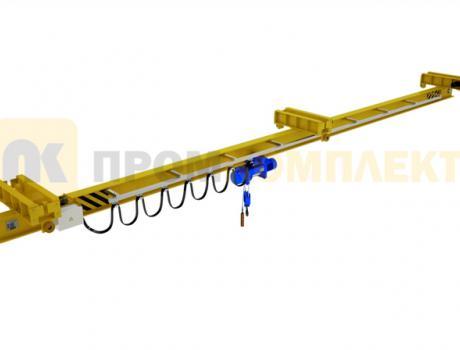 Кран-балка электрическая подвесная двухпролетная г/п 1-10 тонн