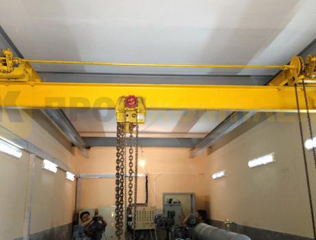 Кран-балка ручная подвесная г/п 8-10 тонн