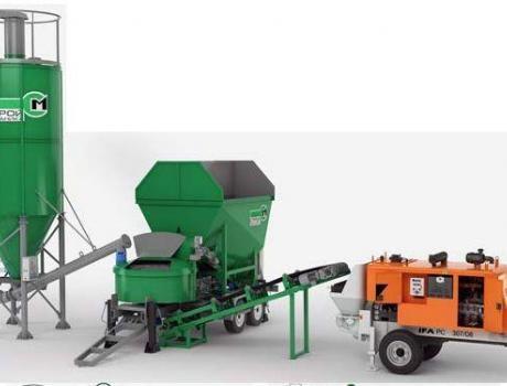 Мобильный бетонный завод MOBILBET0N 15/750 TRAIL - Комплектация 7