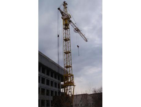 Кран башенный самомонтирующийся КБМ-401П