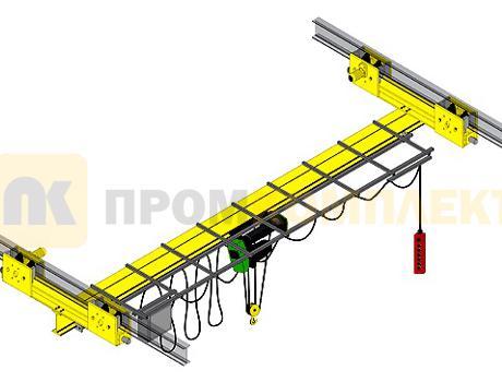 Кран-балка электрическая подвесная г/п 1-10 тонн