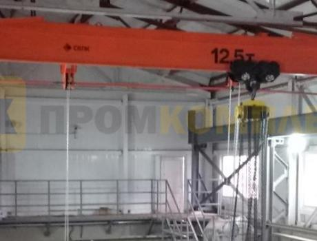 Кран-балка ручная опорная г/п 8,0 - 10,0 - 12,5 тонн