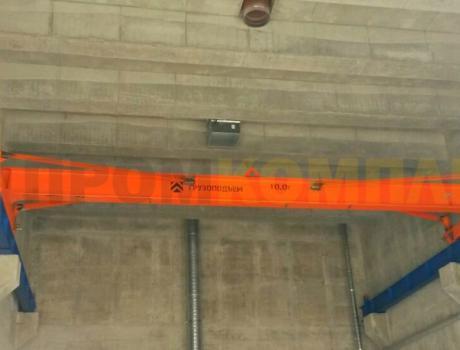 Кран-балка электрическая опорная г/п 1 тонна, пролет 4,5;7,5 м
