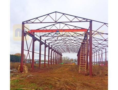 Кран-балка электрическая опорная г/п 3,2 тонны пролет 13,5; 16,5 м