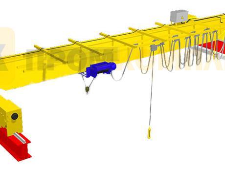 Кран-балка электрическая опорная г/п 1-16 тонн