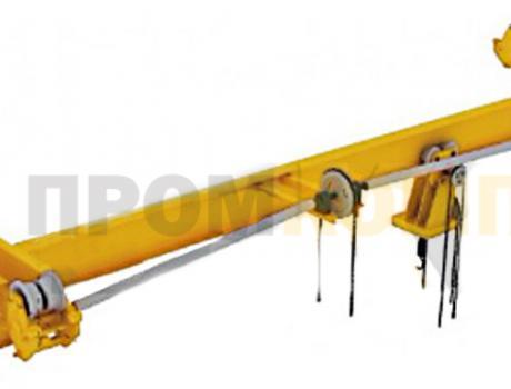 Кран-балка ручная подвесная г/п 1-10 тонн