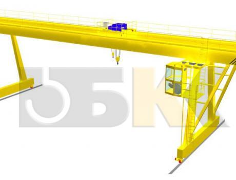 Кран козловой с электроталью г/п 3,2-20 тонн