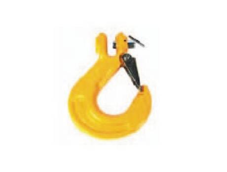 крюки с предохранителем и вилочным соединением для цепей 8 класса стали