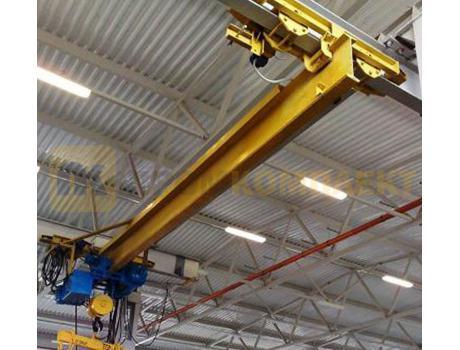Кран-балка электрическая подвесная г/п 5 тонн пролет 3 - 4,2 м