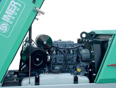 Пневмонагнетатель MOVER 270e/ MOVER 270eb - двигатель