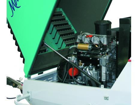 Пневмонагнетатель MOVER 190d - двигатель