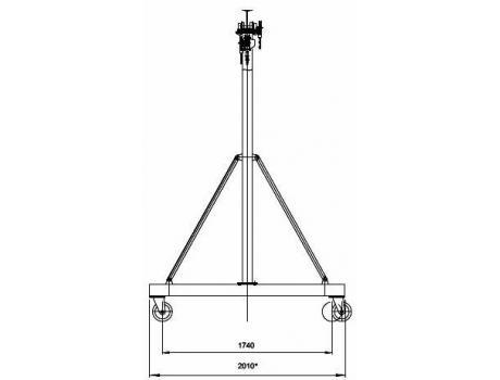УПМ-1000 габаритные размеры