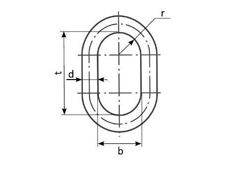Звено типа ОВ2 - габаритная схема