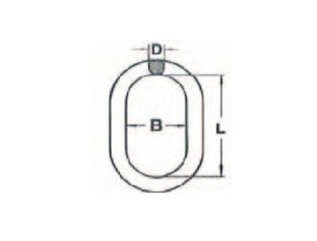 Подъемные звенья для 1- и 2-ветвевых строп цепных из кислотостойкой нержавеющей стали