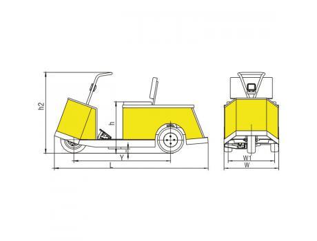 Электрокар BD05