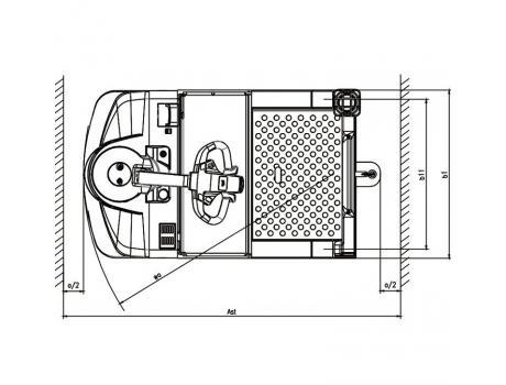 Электрический тягач модель QDD45H