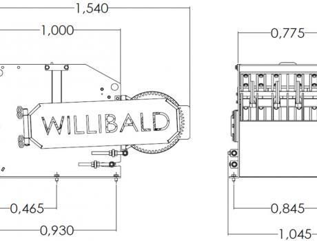 Измельчитель (шредер) Willibald UZ 80