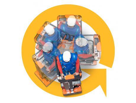 Телескопический подъемник ELEVAH 5 MOVE