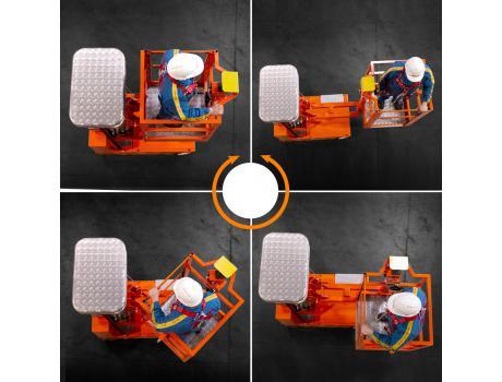 Телескопический подъемник ELEVAH 65 TB