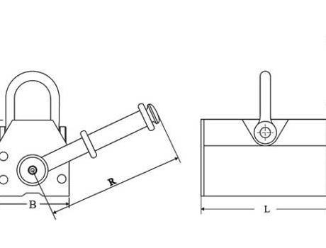 Захват магнитный PML-5, г/п 500 кг