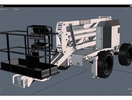 Коленчатый подъемник Parma 16D