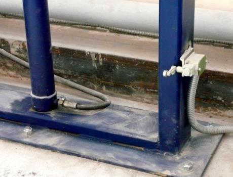 Гидравлический консольный подъёмник