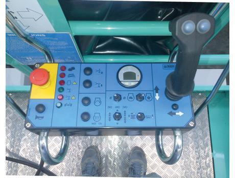 Ножничные подъемники IMER серии IT 180 D - дизель