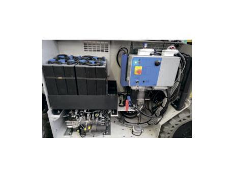 Ножничные подъемники IMER серии IT 180 DE - дизель/электро