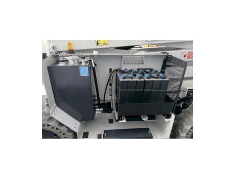 Ножничные подъемники IMER серии IM 180 E - электро