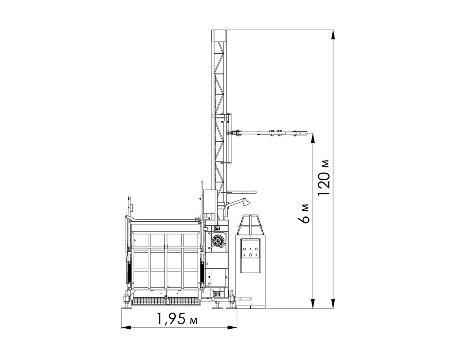 Подъемник зубчато-реечный PME300