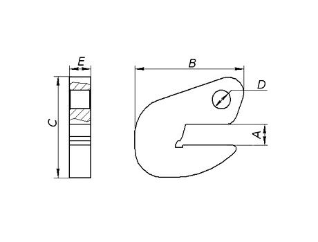 Захват для стальных и бетонных труб TPH1.5